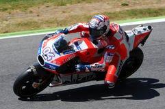 MUGELLO - ITALIE, LE 3 JUIN : Cavalier Andrea Dovizioso Win de Ducati d'Italien le généraliste de 2017 OAKLEY MotoGP de l'Italie  Photographie stock