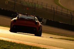 MUGELLO, ITALIE - NOVEMBRE 2013 : L'inconnu conduit Ferrari 599XX pendant XX les programmes de Finali Mondiali Ferrari - jour de  Photos stock