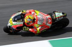 MUGELLO - ITALIEN, AM 13. JULI: Italiener Ducati-Reiter Valentino Rossi während TIM MotoGP GP 2012 von Italien am 13. Juli 2012 Stockfotos