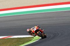 Mugello - ITALIEN, am 3. Juni: Reiter Daniel Pedrosa Spanisch-Hondas Repsol bei 2017 OAKLEY GP von Italien von Mugello stockbild
