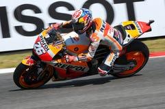 Mugello - ITALIEN, am 3. Juni: Reiter Daniel Pedrosa Spanisch-Hondas Repsol bei 2017 OAKLEY GP von Italien von Mugello lizenzfreie stockfotos