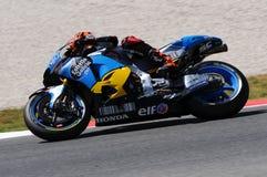 Mugello - ITALIEN, am 2. Juni: Reiter Tito Rabat Spanisch-Hondas Marc VDS während Oakley GP 2017 von Italien MotoGP an Mugello-St lizenzfreie stockfotografie