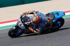 Mugello - ITALIEN, am 2. Juni: Reiter Tito Rabat Spanisch-Hondas Marc VDS während Oakley GP 2017 von Italien MotoGP an Mugello-St lizenzfreie stockfotos
