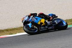 Mugello - ITALIEN, am 2. Juni: Reiter Tito Rabat Spanisch-Hondas Marc VDS während Oakley GP 2017 von Italien MotoGP an Mugello-St stockfoto