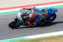 Mugello - ITALIEN, am 2. Juni: Reiter Tito Rabat Spanisch-Hondas Marc VDS während Oakley GP 2017 von Italien MotoGP an Mugello-St lizenzfreie stockbilder