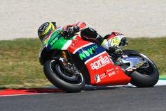 Mugello - ITALIEN, am 3. Juni: ³ Spanisch Aprilia-Reiter Aleix Espargarà bei 2017 OAKLEY GP von Italien von MotoGP Mugello am 3.  stockbilder