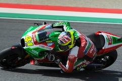 Mugello - ITALIEN, am 3. Juni: ³ Spanisch Aprilia-Reiter Aleix Espargarà bei 2017 OAKLEY GP von Italien von MotoGP Mugello am 3.  stockfoto