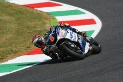 Mugello - ITALIEN, am 3. Juni: Spanisch Ducati Avintia, das MotoGP-Reiter Hector Barbera bei 2017 OAKLEY GP von Italien von MotoG stockfotos