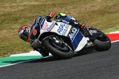 Mugello - ITALIEN, am 3. Juni: Spanisch Ducati Avintia, das MotoGP-Reiter Hector Barbera bei 2017 OAKLEY GP von Italien von MotoG stockbild