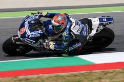 Mugello - ITALIEN, am 3. Juni: Spanisch Ducati Avintia, das MotoGP-Reiter Hector Barbera bei 2017 OAKLEY GP von Italien von MotoG lizenzfreie stockbilder