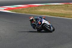 Mugello - ITALIEN, am 3. Juni: Spanisch Ducati Avintia, das MotoGP-Reiter Hector Barbera bei 2017 OAKLEY GP von Italien von MotoG stockfoto