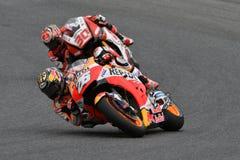MUGELLO - ITALIEN, AM 2. JUNI: Teamreiter Daniel Pedrosa Spanisch-Hondas Repsol bei GP 2018 von Italien von MotoGP im Juni 2018 Lizenzfreie Stockfotos