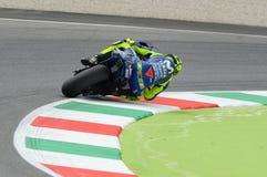 MUGELLO - ITALIEN, JUNI: Teamreiter Valentino Rossi Italiener-Yamahas Movistar bei GP 2018 von Italien von MotoGP im Juni 2018 Stockbilder