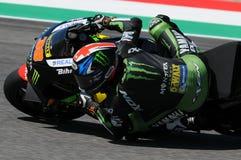 MUGELLO - ITALIEN, AM 21. MAI: Reiter Bradley Smith Briten Yamaha bei TIM 2016 MotoGP von ITALIEN an Mugello-Stromkreis Stockfotos