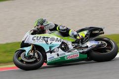 MUGELLO - ITALIEN, AM 21. MAI: Reiter Cal Crutchlow Briten HONDA bei TIM 2016 MotoGP von Italien an Mugello-Stromkreis Lizenzfreies Stockfoto