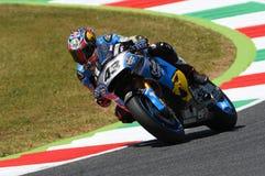 Mugello - ITALY, June 2: Australian Honda Marc VDS rider Jack Miller during 2017 Oakley GP of Italy MotoGP at Mugello Circuit Stock Image