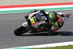 Mugello - ITALY, 2 June: British LCR Honda Castrol Team Rider Cal Crutchlow during Qualifying session at 2018 GP of Italy. Of MotoGP on June, 2018. Italy Stock Photos
