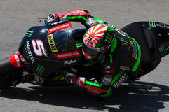 MUGELLO - ITALY, JUNE 3: France Yamaha Tech 3 Rider Johann Zarco at 2017 Oakley MotoGP GP of Italy on JUNE 3, 2017 Royalty Free Stock Photos