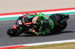 MUGELLO - ITALY, JUNE 3: France Yamaha Tech 3 Rider Johann Zarco at 2017 Oakley MotoGP GP of Italy on JUNE 3, 2017 Royalty Free Stock Photography