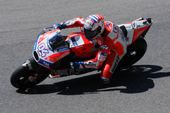 MUGELLO - ITALY, JUNE 3: Italian Ducati rider Andrea Dovizioso Win the 2017 OAKLEY MotoGP GP of Italy on JUNE 3, 2017 Stock Photo