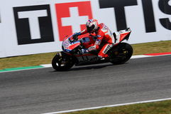 MUGELLO - ITALY, JUNE 3: Italian Ducati rider Andrea Dovizioso Win the 2017 OAKLEY MotoGP GP of Italy on JUNE 3, 2017 Royalty Free Stock Image