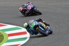Mugello - ITALY, 2 JUNE: Italian Honda Marc Vds Team Rider Franco Morbidelli at 2018 GP of Italy of MotoGP Stock Photo