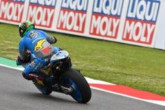 Mugello - ITALY, 2 JUNE: Italian Honda Marc Vds Team Rider Franco Morbidelli at 2018 GP of Italy of MotoGP Stock Photography