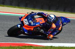 Mugello - Italy, 1 June: Portuguese Red Bull Ktm Tech 3 Team rider Miguel Oliveira in action during 2019 GP of Italy of MotoGP. On June 2019 in Italy royalty free stock photography