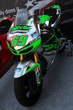 Mugello - Italy, June 1: Show of all Nicky Hayden`s MotoGP and SBK Bikes in the Paddock during GP of Italy on June 1, 2017. Stock Photo