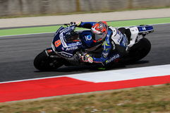 Mugello - ITALY, JUNE 3: Spanish Ducati Avintia Racing MotoGP rider Hector Barbera at 2017 OAKLEY GP of Italy of MotoGP Mugello. On JUNE 3, 2017. Italy Stock Photos