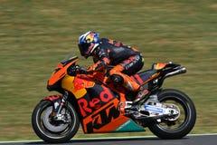 Mugello - ITALY, JUNE 3: Spanish KTM MotoGP rider Pol Espargarò at 2017 OAKLEY GP of Italy of MotoGP Mugello on JUNE 3, 2017 Royalty Free Stock Photo