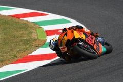 Mugello - ITALY, JUNE 3: Spanish KTM MotoGP rider Pol Espargarò at 2017 OAKLEY GP of Italy of MotoGP Mugello on JUNE 3, 2017 Royalty Free Stock Photos