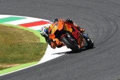 Mugello - ITALY, JUNE 3: Spanish KTM MotoGP rider Pol Espargarò at 2017 OAKLEY GP of Italy of MotoGP Mugello on JUNE 3, 2017 Royalty Free Stock Images