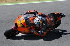Mugello - ITALY, JUNE 3: Spanish KTM MotoGP rider Pol Espargarò at 2017 OAKLEY GP of Italy of MotoGP Mugello on JUNE 3, 2017 Stock Photos