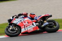 Mugello - Italy, MAY 21: British Ducati rider Scott Redding at 2016 GP MotoGP of Italy at Mugello Circuit Stock Image
