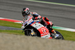 Mugello - Italy, MAY 21: British Ducati rider Scott Redding at 2016 GP MotoGP of Italy at Mugello Circuit Stock Images