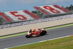 MUGELLO - ITALY, MAY 29: Italian Ducati rider Andrea Iannone at 2015 TIM MotoGP of Italy at Mugello circuit. Royalty Free Stock Images