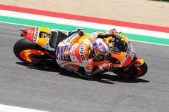 MUGELLO - ITALY, MAY 29: Italian Ducati rider Andrea Iannone at 2015 TIM MotoGP of Italy at Mugello circuit. Stock Photography