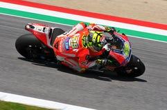 MUGELLO - ITALY, MAY 29: Italian Ducati rider Andrea Iannone at 2015 TIM MotoGP of Italy at Mugello circuit. Stock Photo