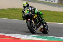MUGELLO - ITALY, MAY 21: Spanish Yamaha rider Pol Espargaro at 2016 TIM MotoGP of ITALY at Mugello Circuit Royalty Free Stock Photography