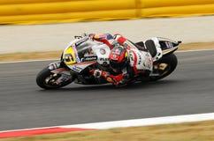 MUGELLO - 13 JULI: Stefan Bradle van het teamrassen van LCR Honda bij Kwalificerende Zitting van GP Grand Prix van Moto van Itali Stock Foto's