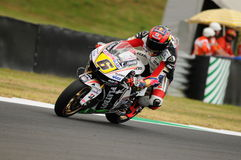 MUGELLO - JULY 13: Stefan Bradle of LCR Honda team races at Qualifying Session of Moto GP Grand Prix of Italy Stock Photo