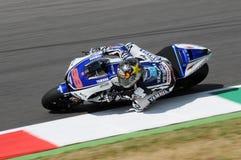 MUGELLO kring - 13 JULI: Jorge Lorenzo van Yamaha-Team tijdens Kwalificerende Zitting van MotoGP-Grand Prix van Italië Royalty-vrije Stock Afbeelding
