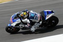 MUGELLO kring - 13 JULI: Jorge Lorenzo van Yamaha-Team tijdens Kwalificerende Zitting van MotoGP-Grand Prix van Italië Royalty-vrije Stock Foto
