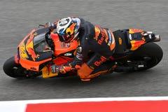 Mugello - l'ITALIA, IL 1° GIUGNO: Fabbrica spagnola di Red Bull Ktm che corre il ² di Team Rider Pol Espargarà al GP 2018 dell'It fotografia stock