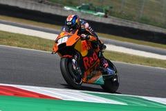 Mugello - l'ITALIA, il 3 giugno: Cavaliere britannico Bradley Smith di KTM ad un GP di 2017 OAKLEY dell'Italia di MotoGP Mugello  fotografia stock libera da diritti