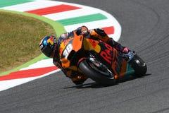 Mugello - l'ITALIA, il 3 giugno: Cavaliere britannico Bradley Smith di KTM ad un GP di 2017 OAKLEY dell'Italia di MotoGP Mugello  fotografia stock