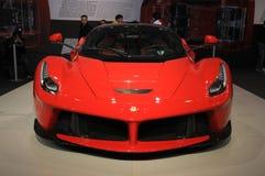 MUGELLO, l'IT, novembre 2013: La Ferrari di Ferrari al circuito di Mugello in Italia durante il Finali Mondiali Ferrari 2013 Fotografie Stock
