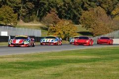 MUGELLO, IT, Listopad, 2015: nieznane biegający z Ferrari 488 Turbo Zdjęcie Stock