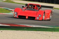 MUGELLO, IT, November 2013, onbekende looppas met ferrari 333SP in de Mugello-Kring tijdens Finali Mondiali Ferrari 2013 in Mugel Royalty-vrije Stock Afbeelding